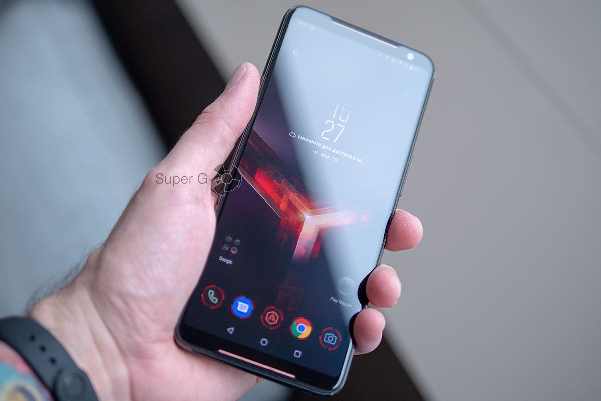 Дисплей ASUS ROG Phone 2-го поколения