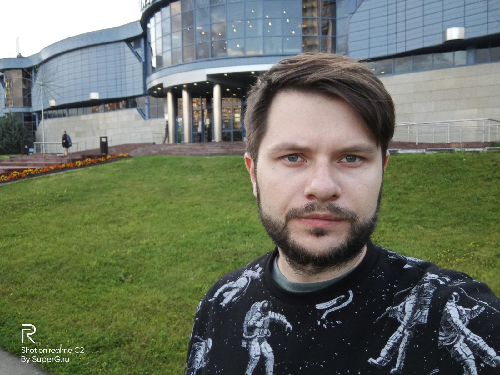 Realme C2 пример фото с фронтальной камеры