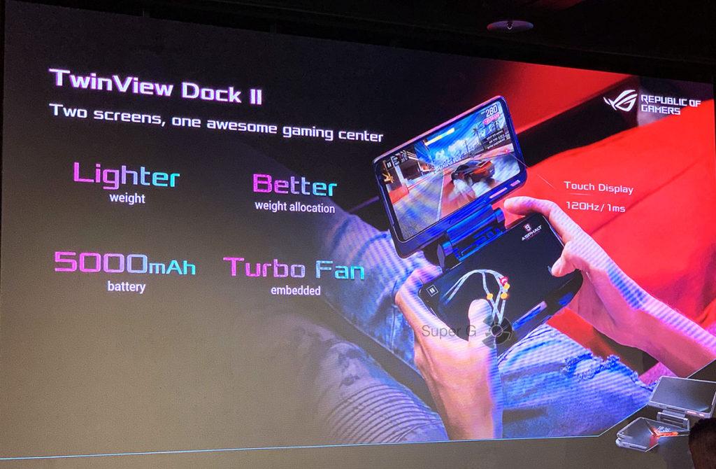 TwinView Desk II ASUS ROG Phone II