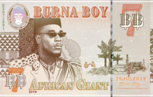 Альбом Burna Boy - African Giant