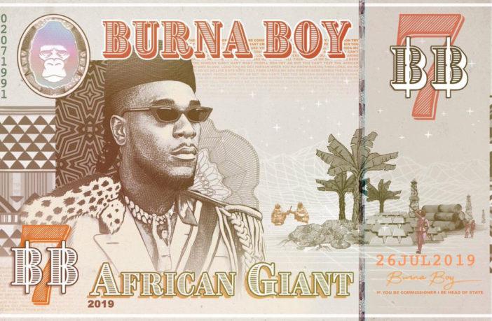 Альбом Burna Boy - African Giant