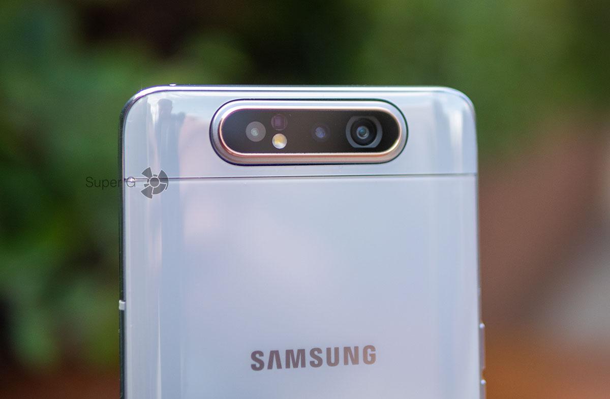 Камеры Samsung Galaxy A80