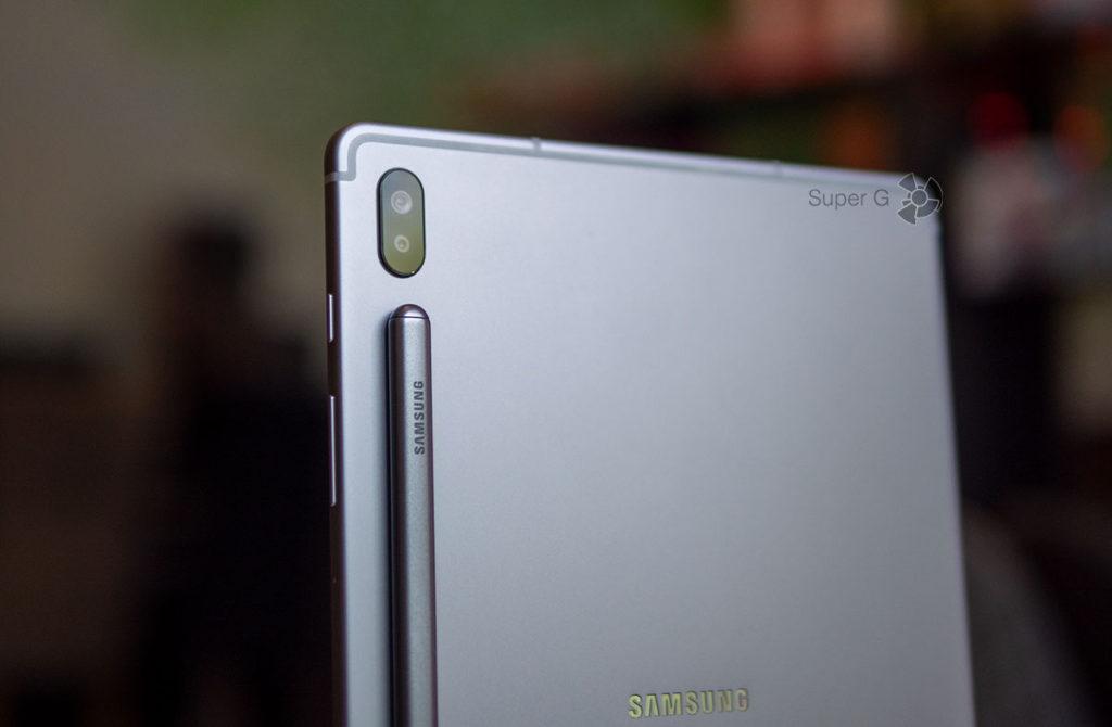 Двойная камера Samsung Galaxy Tab S6