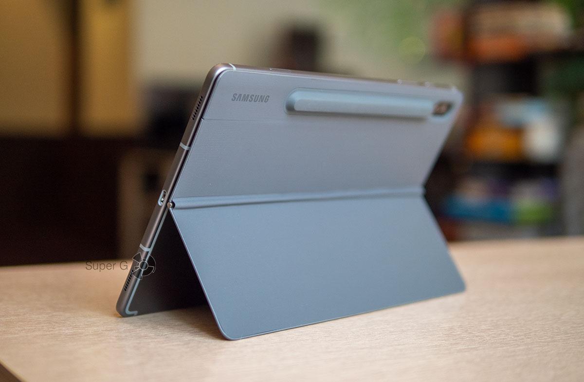 Крышка чехла BookCover Keyboard для Samsung Galaxy Tab S6