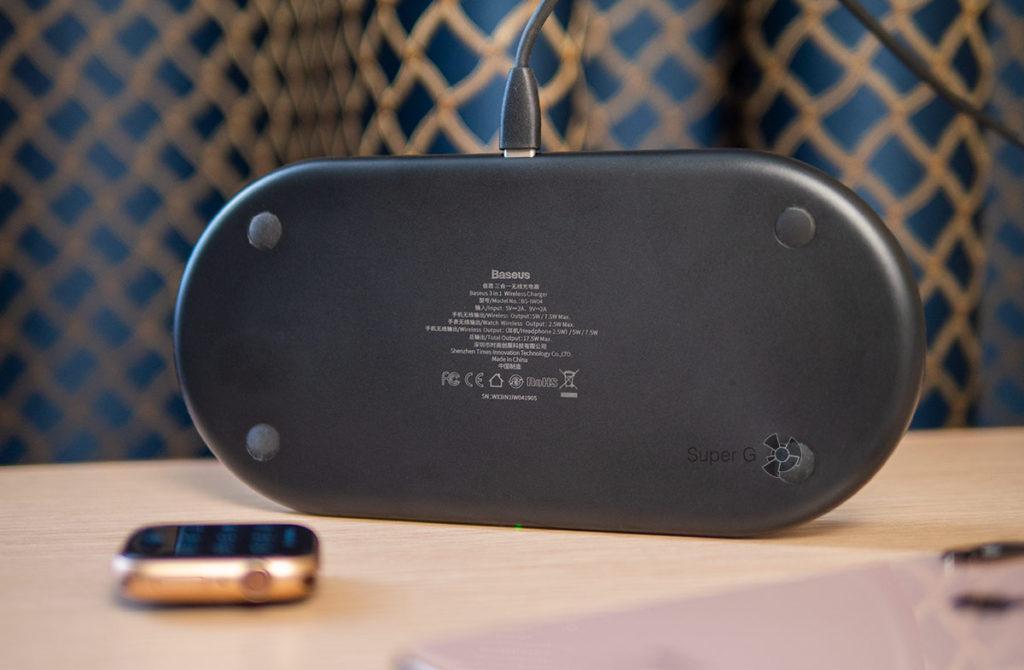 Беспроводная зарядка для iPhone X, Watch и наушников AirPods