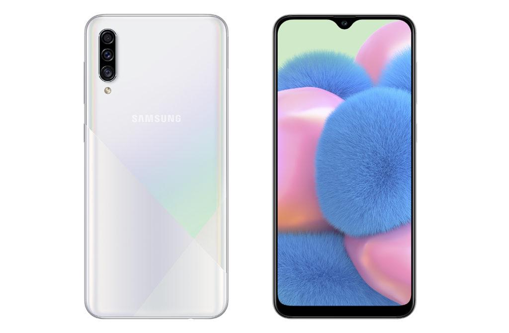 Белый Samsung Galaxy A30s