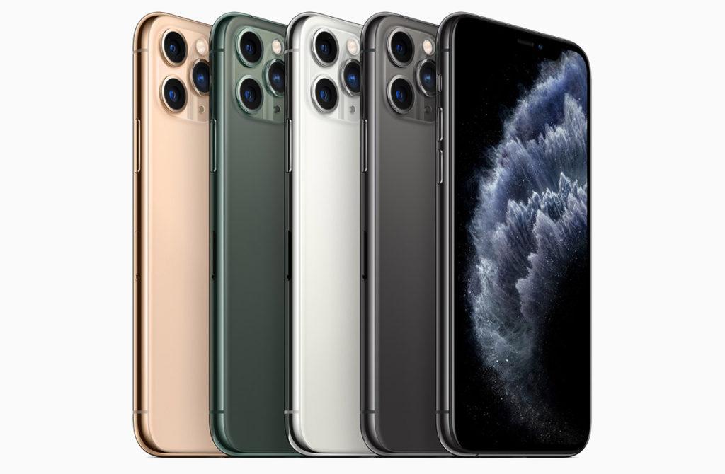 Все новые iPhone 11 Pro