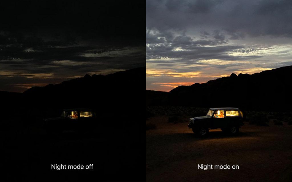 Ночной режим камеры iPhone 11 Pro