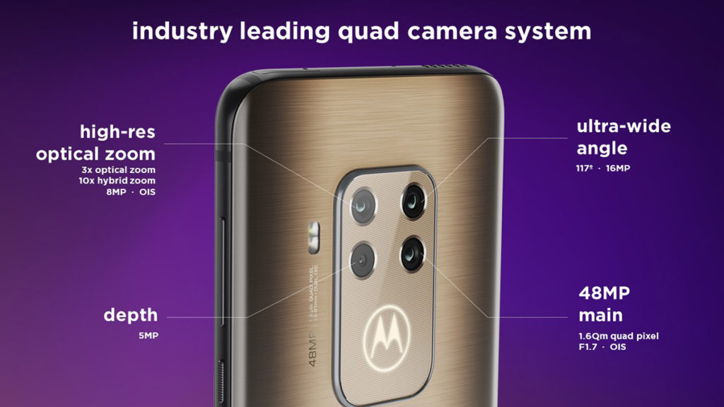Камеры Motorola One Zoom