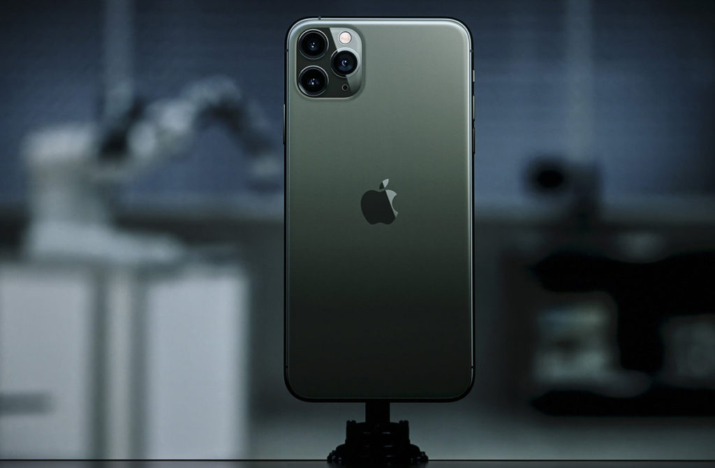 Темно-зеленый iPhone 11 Pro