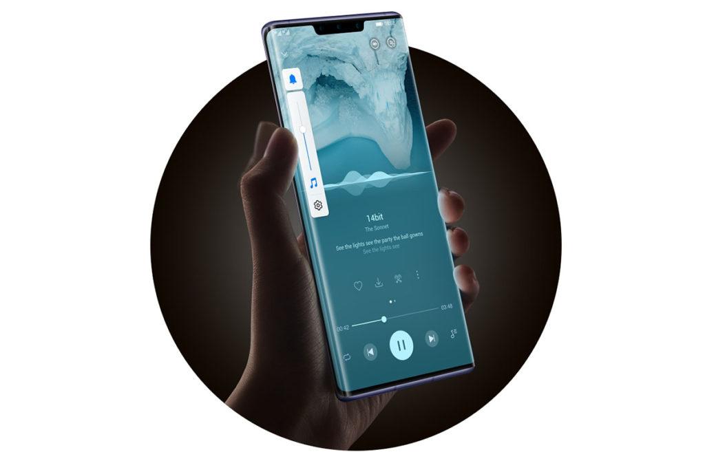 Huawei Mate 30 Pro сенсорные кнопки регулировки громкости