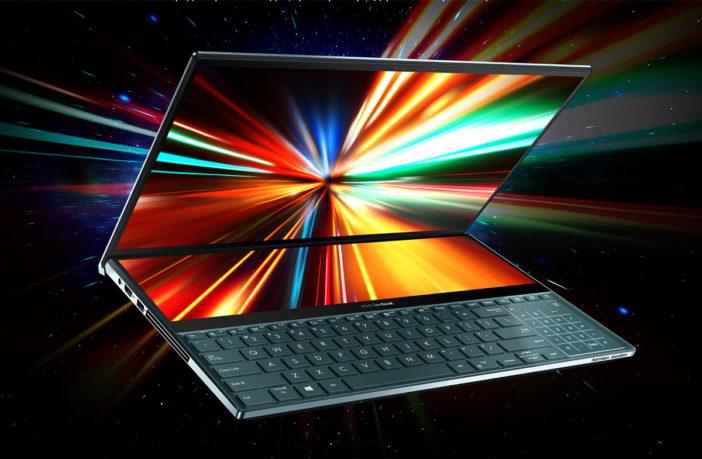 ASUS ZenBook Pro Duo - два огромных дисплея в одном ноутбуке