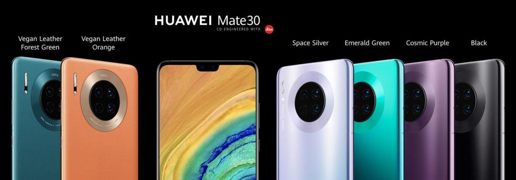 Mate 30 все версии смартфона