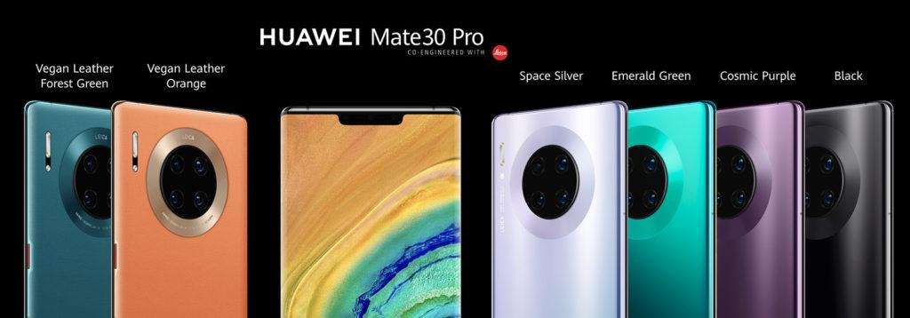 Сравнение Huawei Mate 30 Pro с Huawei P30 Pro