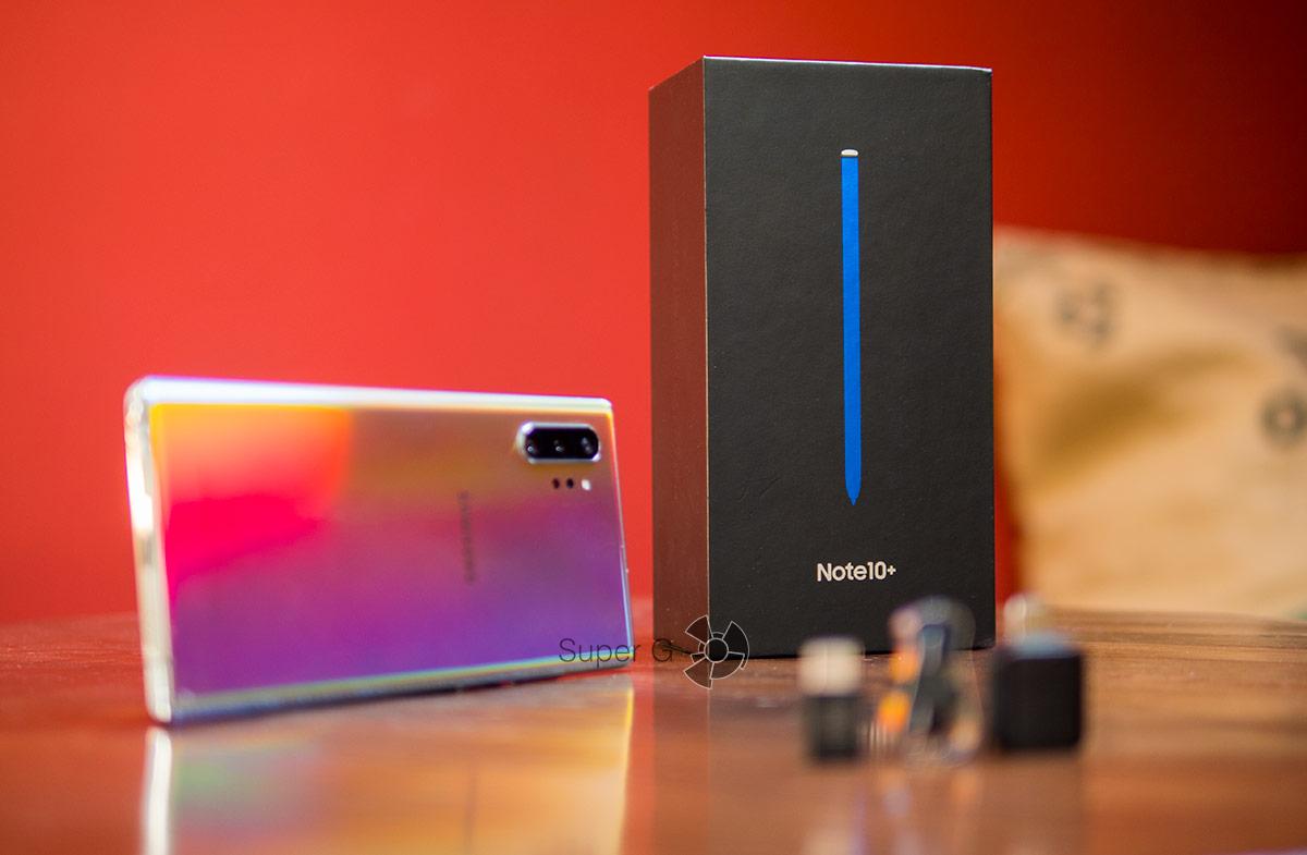 Коробка из-под Samsung Galaxy Note 10 Plus
