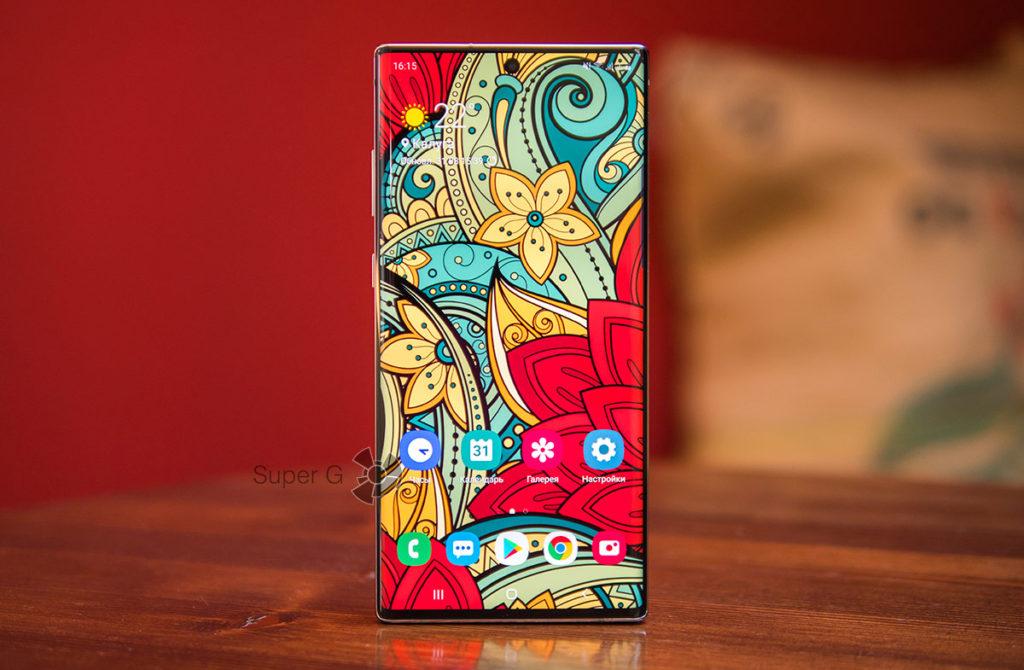 Дисплей Samsung Galaxy Note 10 Plus с симметричными рамками