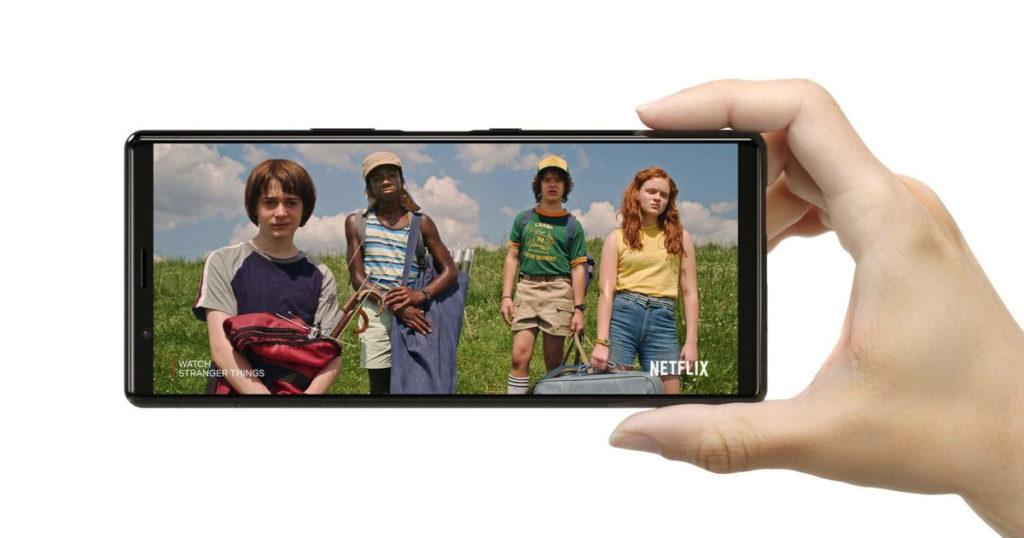 Sony Xperia 5 экран