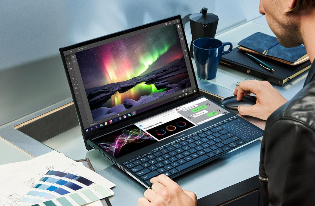 ZenBook Pro Duo ноутбук