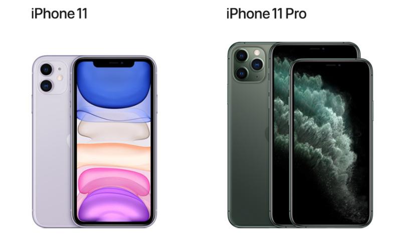Отличия iPhone 11 и iPhone 11 Pro и Pro Max