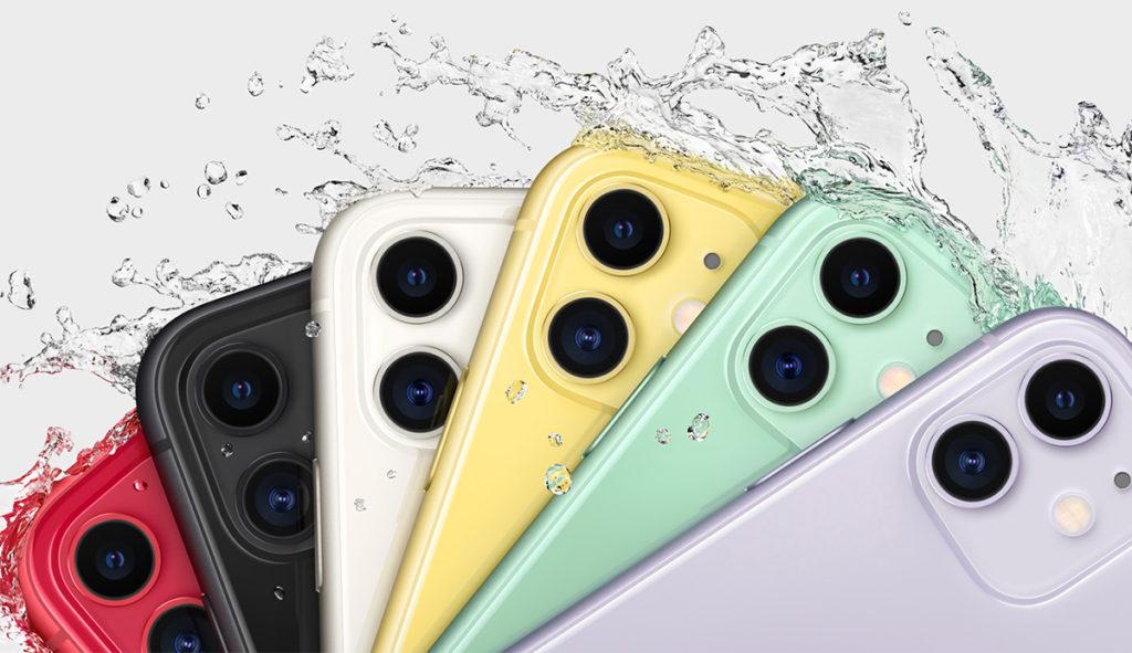 Защита от воды IP68 iPhone 11