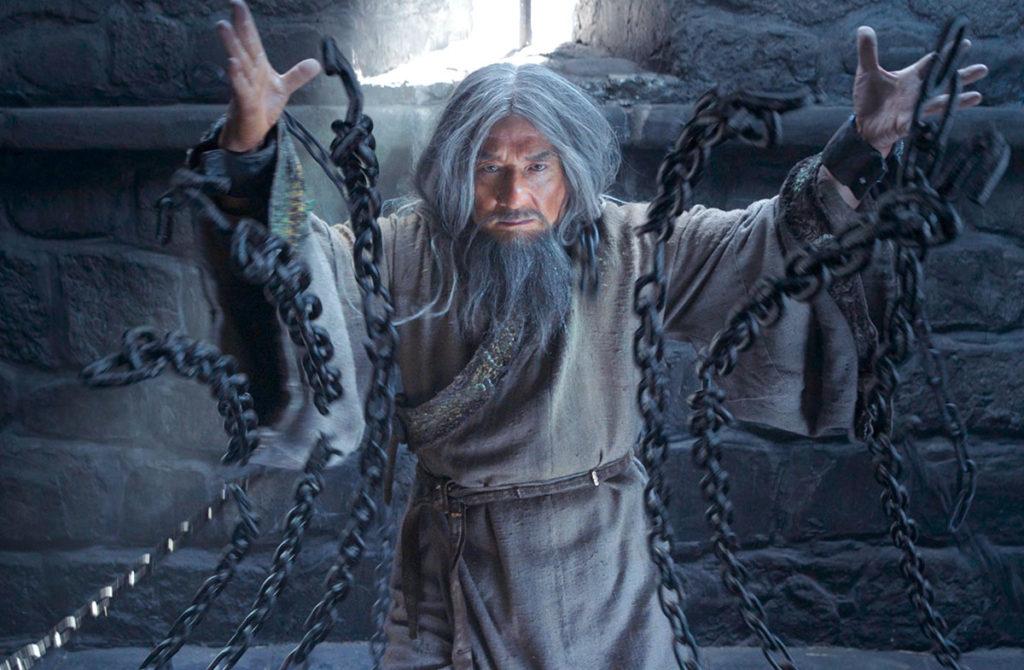 """Джеки Чан в """"Тайне печати дракона"""""""