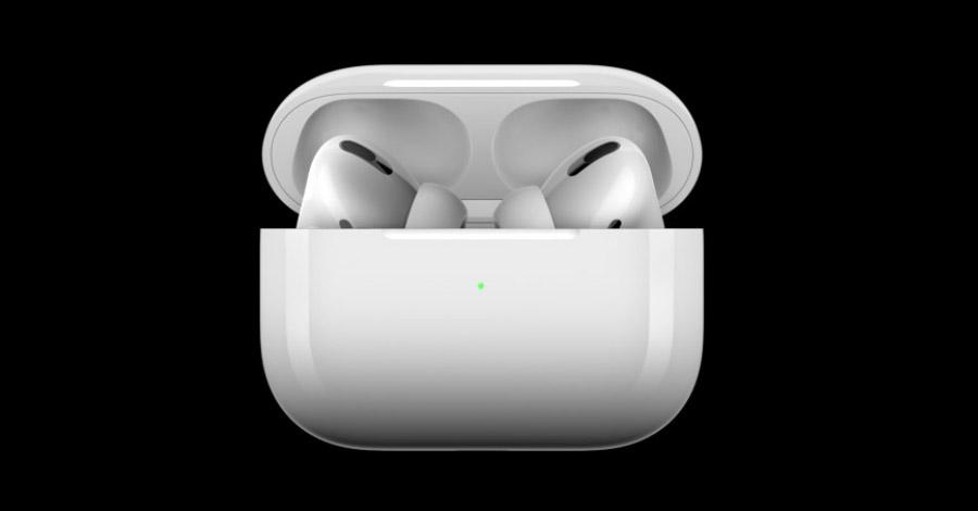 Apple AirPods Pro кейс для подзарядки через беспроводную зарядку Qi