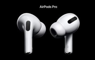 Apple AirPods Pro - наушники с активным шумоподавлением