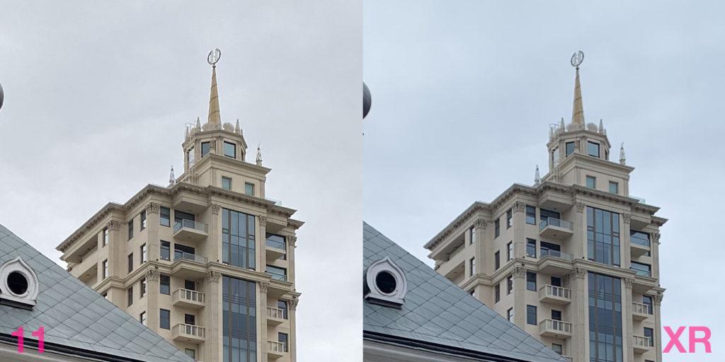 Сравнение фото с камер iPhone 11 и iPhone XR