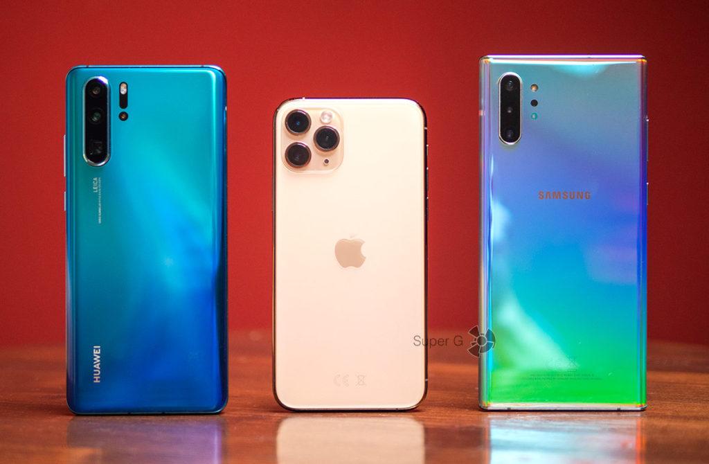 Сравнение фото и видео iPhone 11 Pro, Huawei P30 Pro и Samsung Galaxy Note 10+