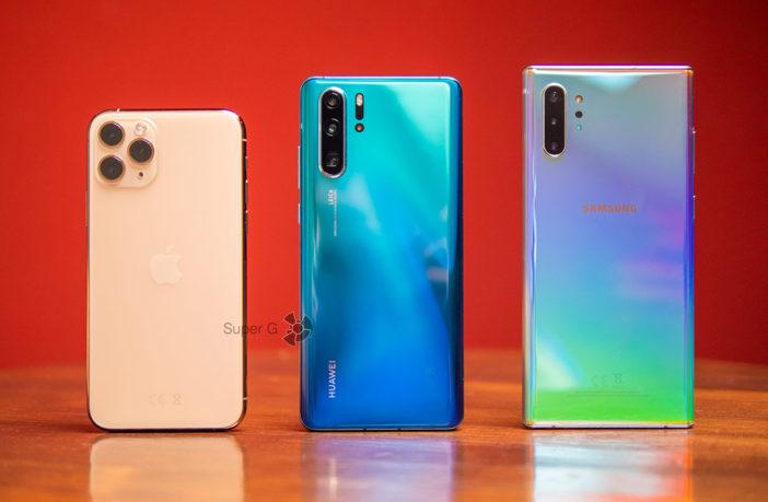 Сравнение камер iPhone 11 Pro, Huawei P30 Pro и Samsung Galaxy Note 10+