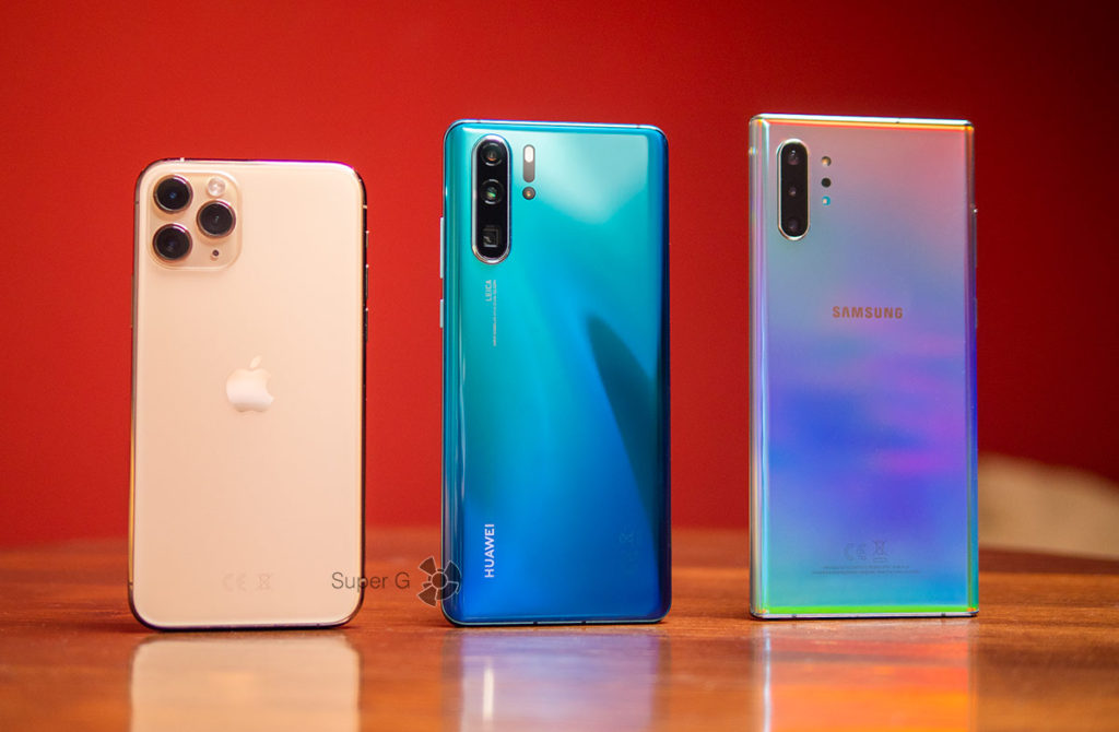 Тест камер iPhone 11 Pro, Huawei P30 Pro и Samsung Galaxy Note 10+