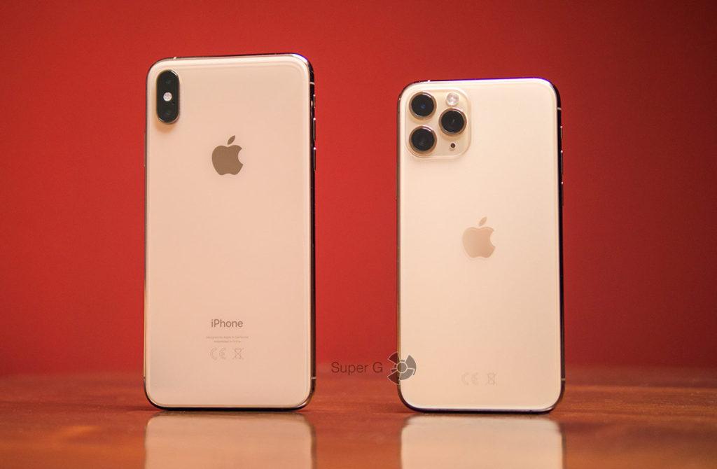 Отличия iPhone XS Max от iPhone 11 Pro