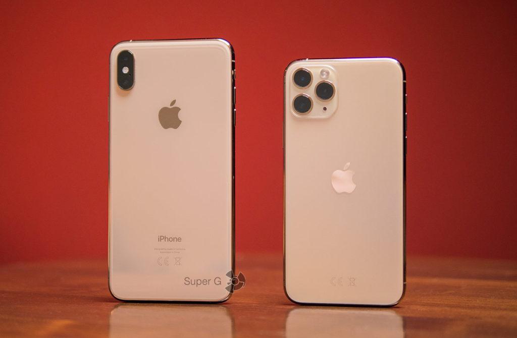 Сравнение iPhone XS Max и iPhone 11 Pro
