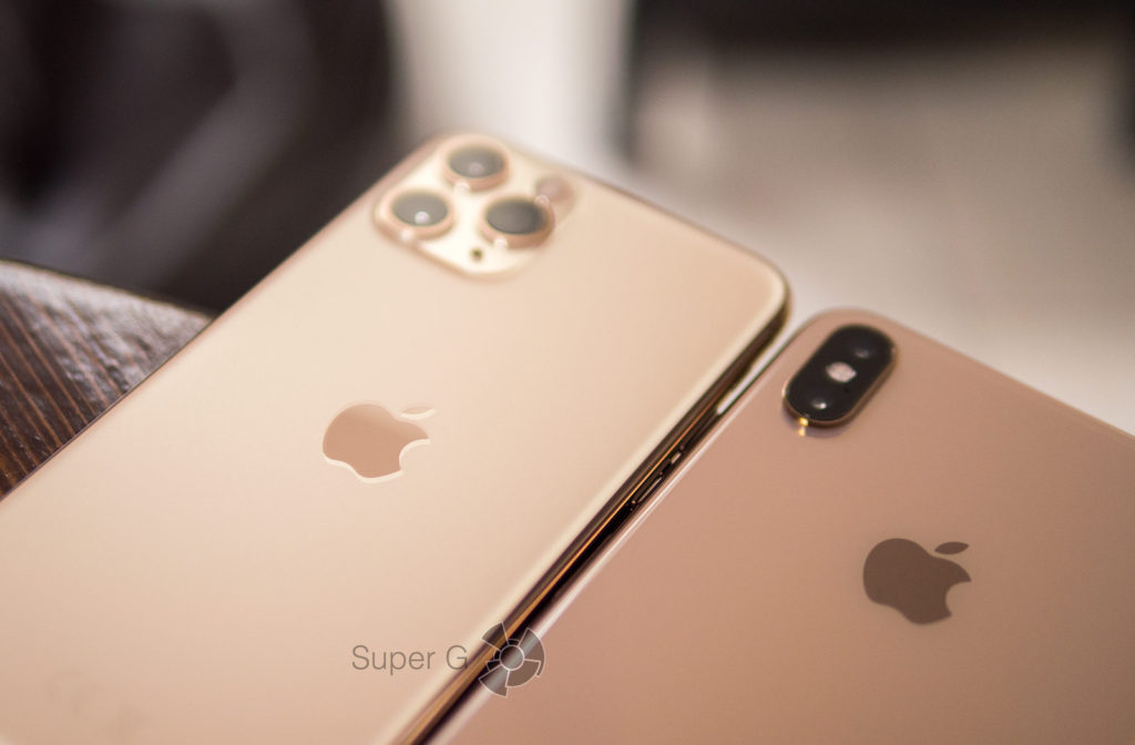 Яблочко в iPhone 11 Pro сползло ниже
