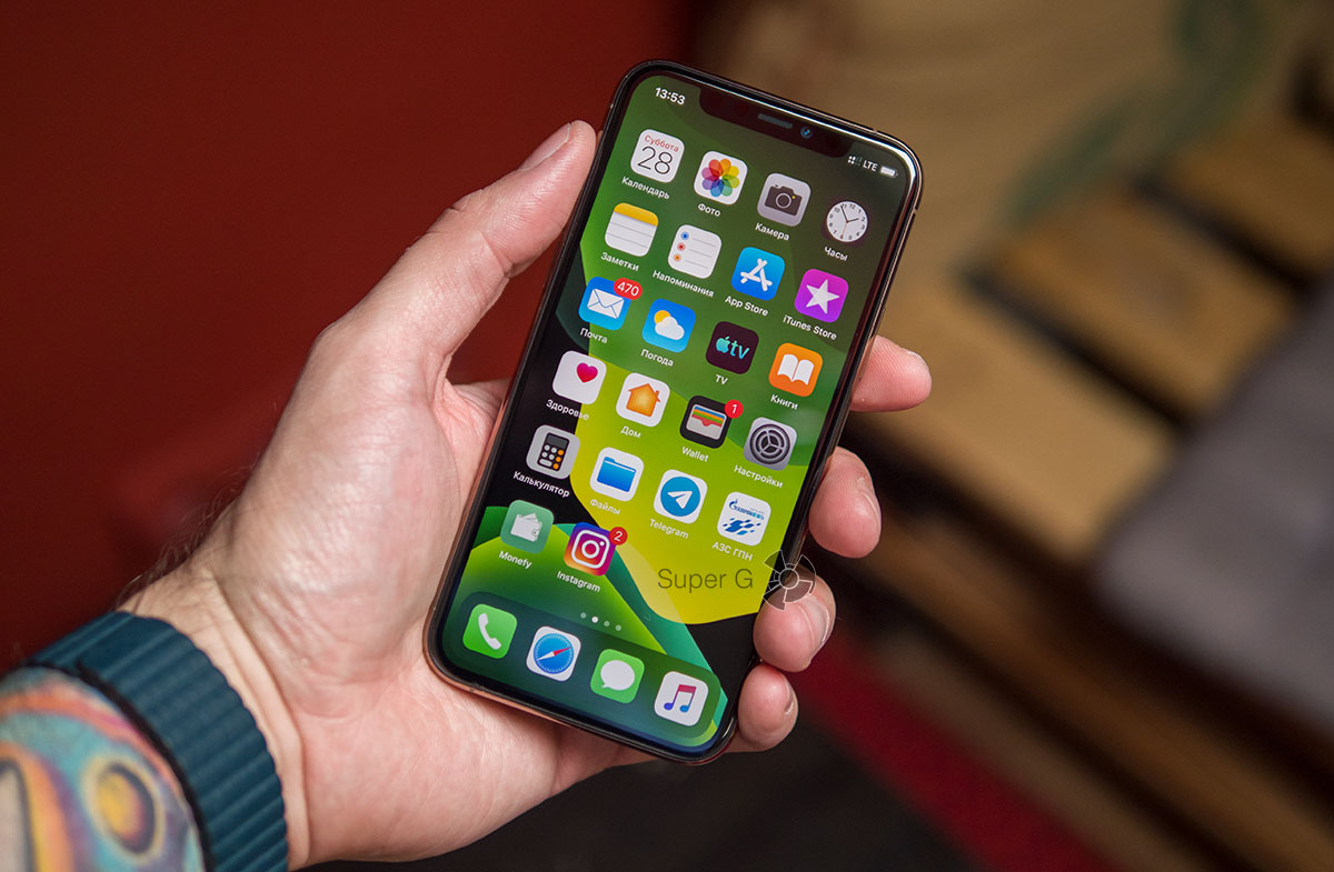 iPhone 11 Pro - габариты