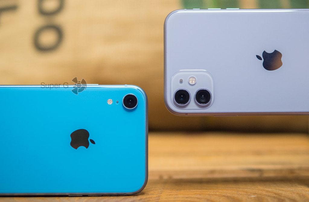 Сравнение камер iPhone XR и iPhone 11