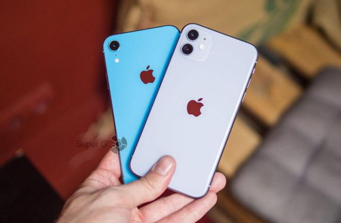Сравнение iPhone 11 и iPhone XR - какой смартфон выбрать