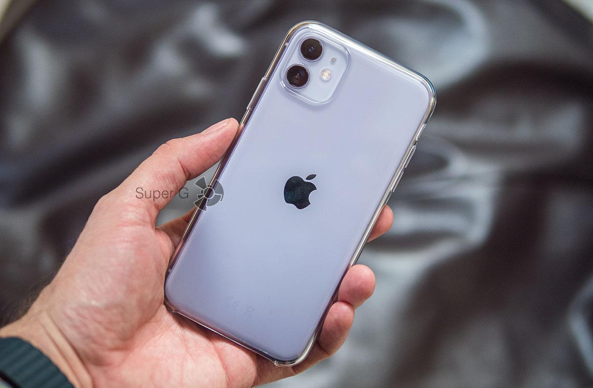 Оригинальный чехол Apple для iPhone 11