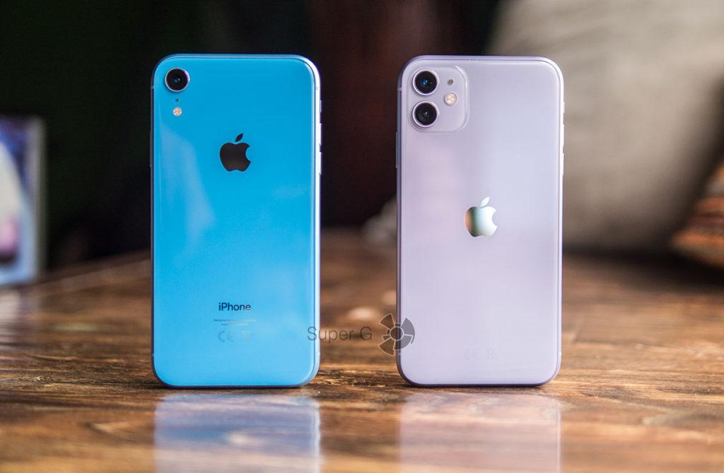 Сравнение iPhone XR с iPhone 11
