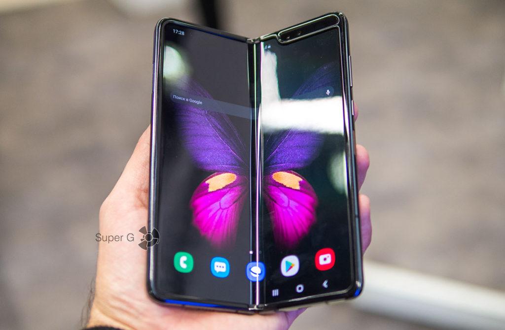 Поломка Samsung Galaxy Fold