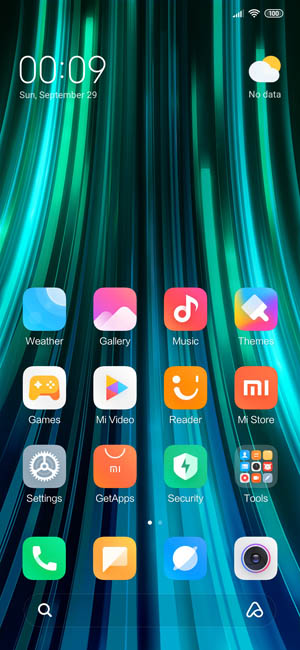 Прошивка MIUI 10.4.9 Redmi Note 8 Pro для Китая
