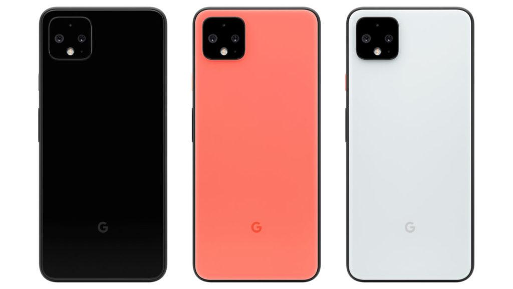 Цвета Google Pixel 4