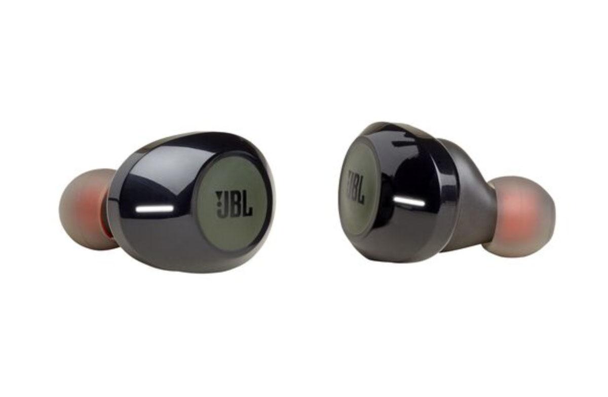 JBL TUNE 120 TWS Черно-зеленые