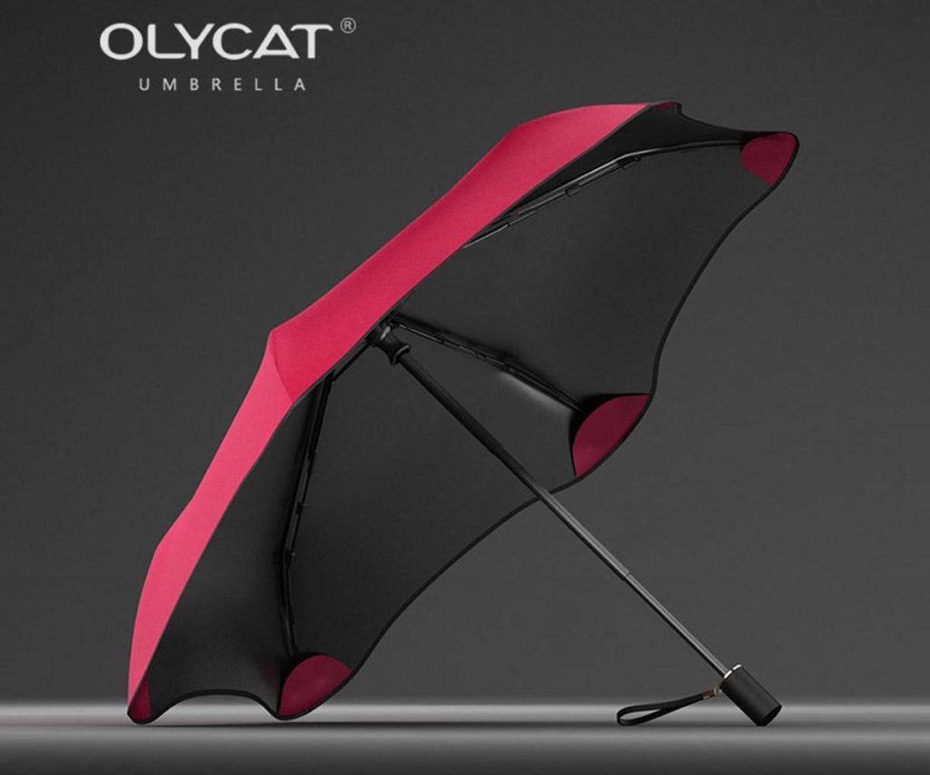 Зонт без острых краев и спиц Olycat