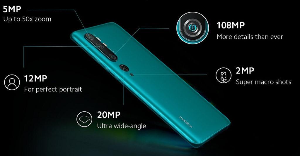 Камеры Xiaomi CC9 Pro