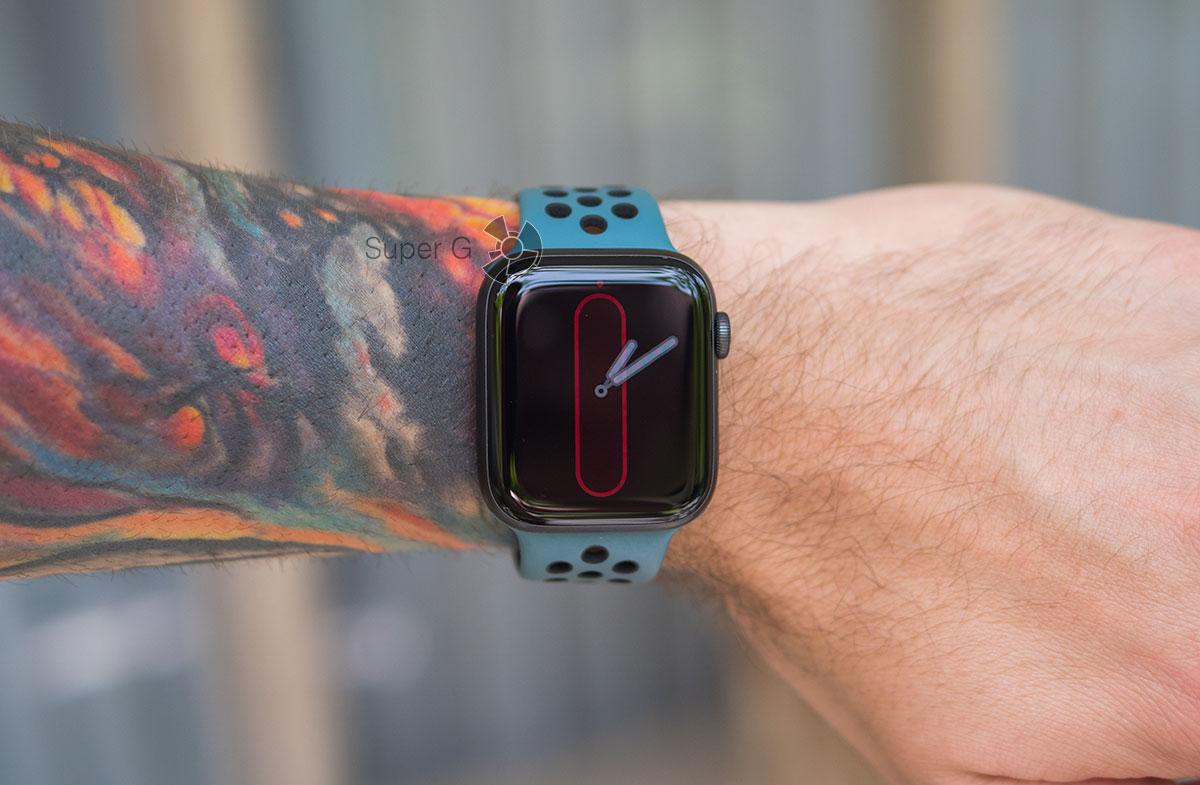 Умные часы Apple Watch Series 5 со всегда включенным экраном
