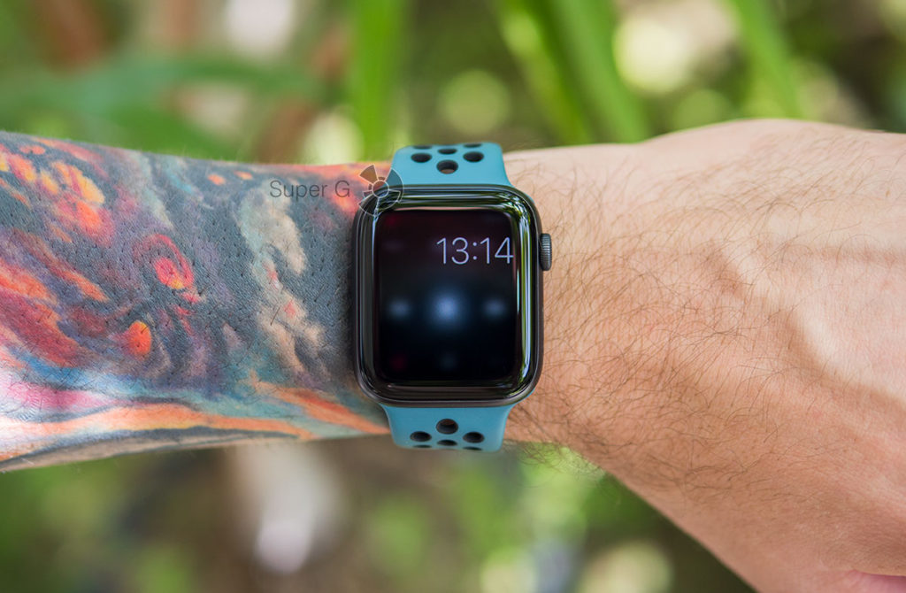 Режим приватности экрана Apple Watch 5