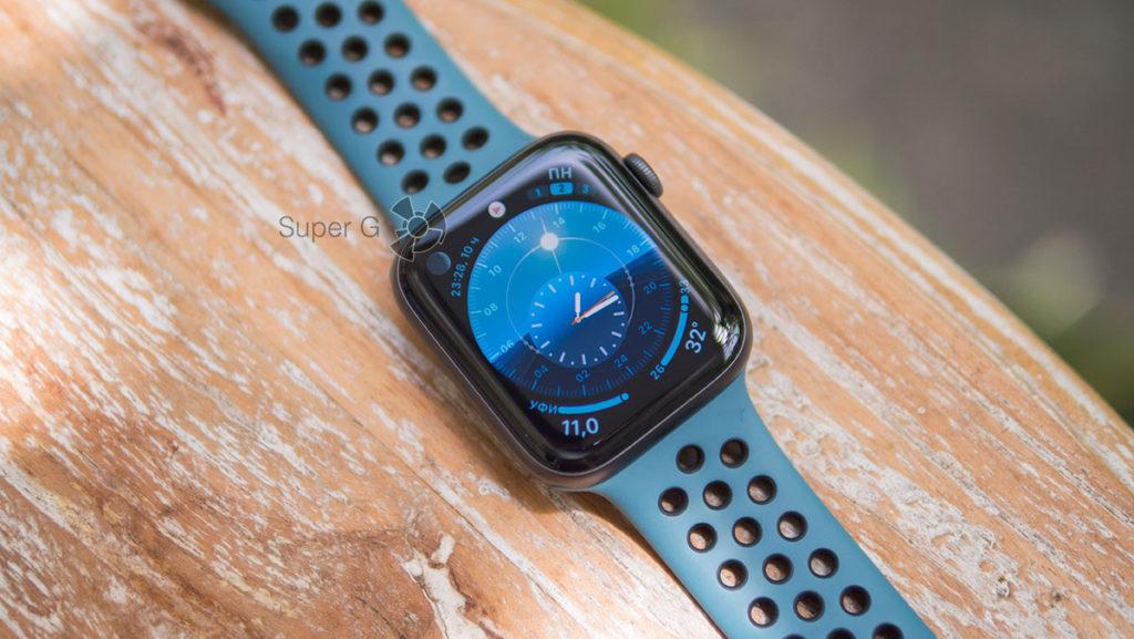 Новые циферблаты Apple Watch 5