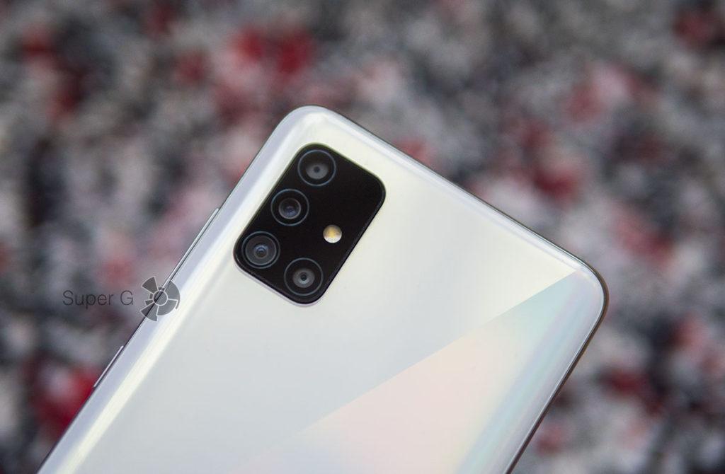 Камеры Samsung Galaxy A51