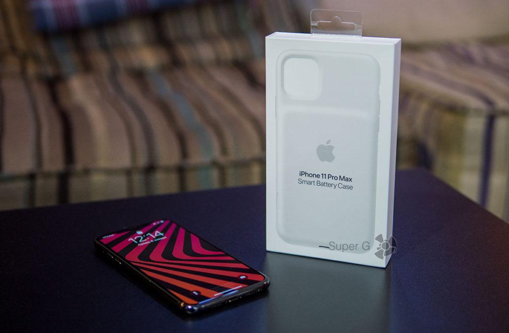 Время зарядки автономность Apple Smart Battery Case для iPhone 11 Pro Max